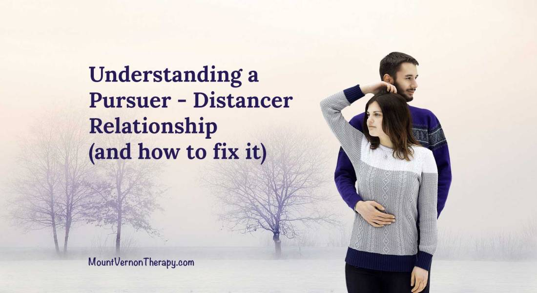 pursuer distancer relationship