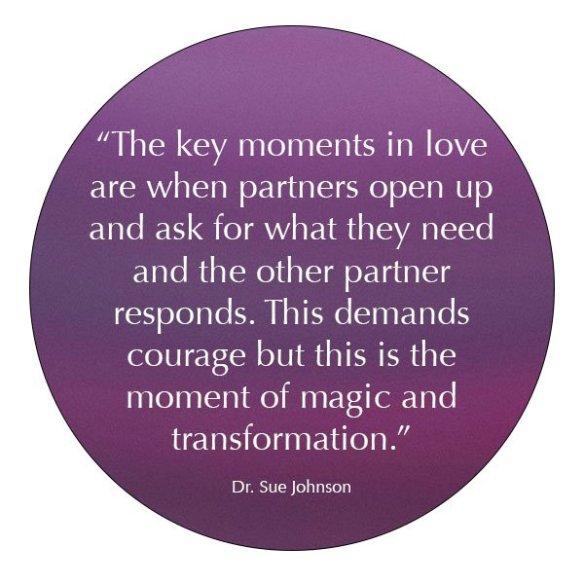 dr sue johnson transform relationships