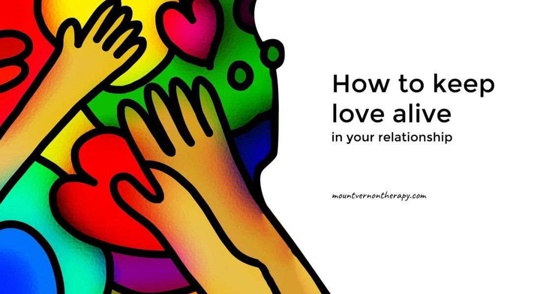 how to keep love alive