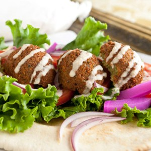 Falafel (Seasoned Ground Chickpeas)