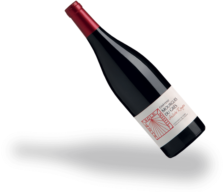 Bouteille Galets Rouges