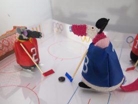 Matilda shoots at goal