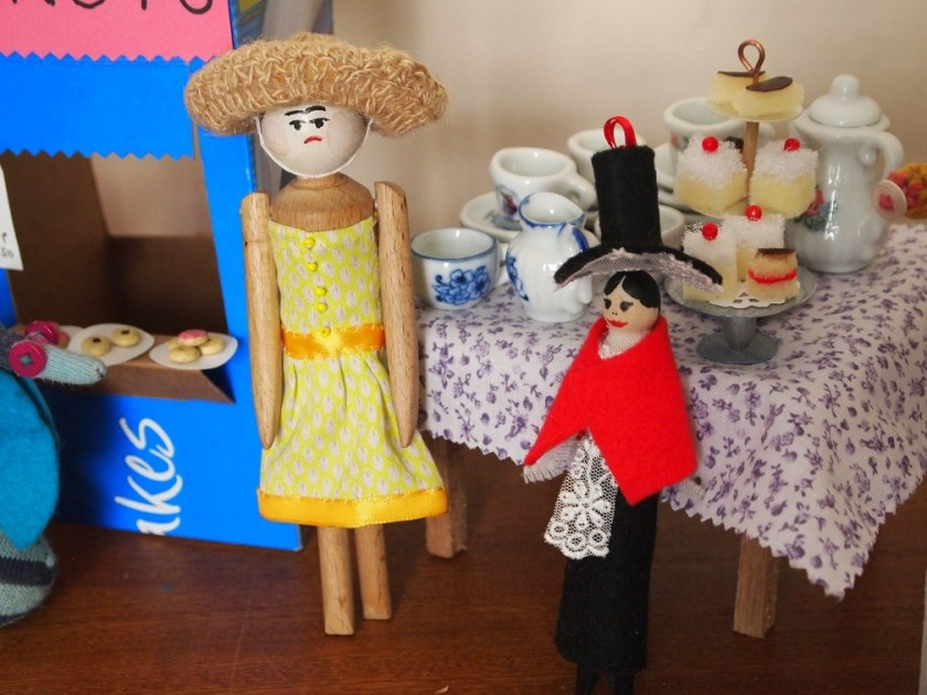 peggy and mary organise the tea stall