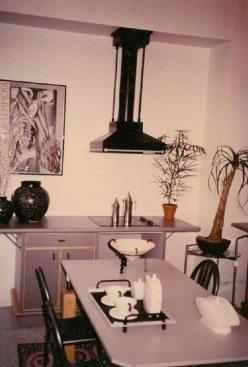 Une cuisine des années 80