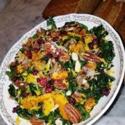 Kale Roasted Butternut Squash Salad