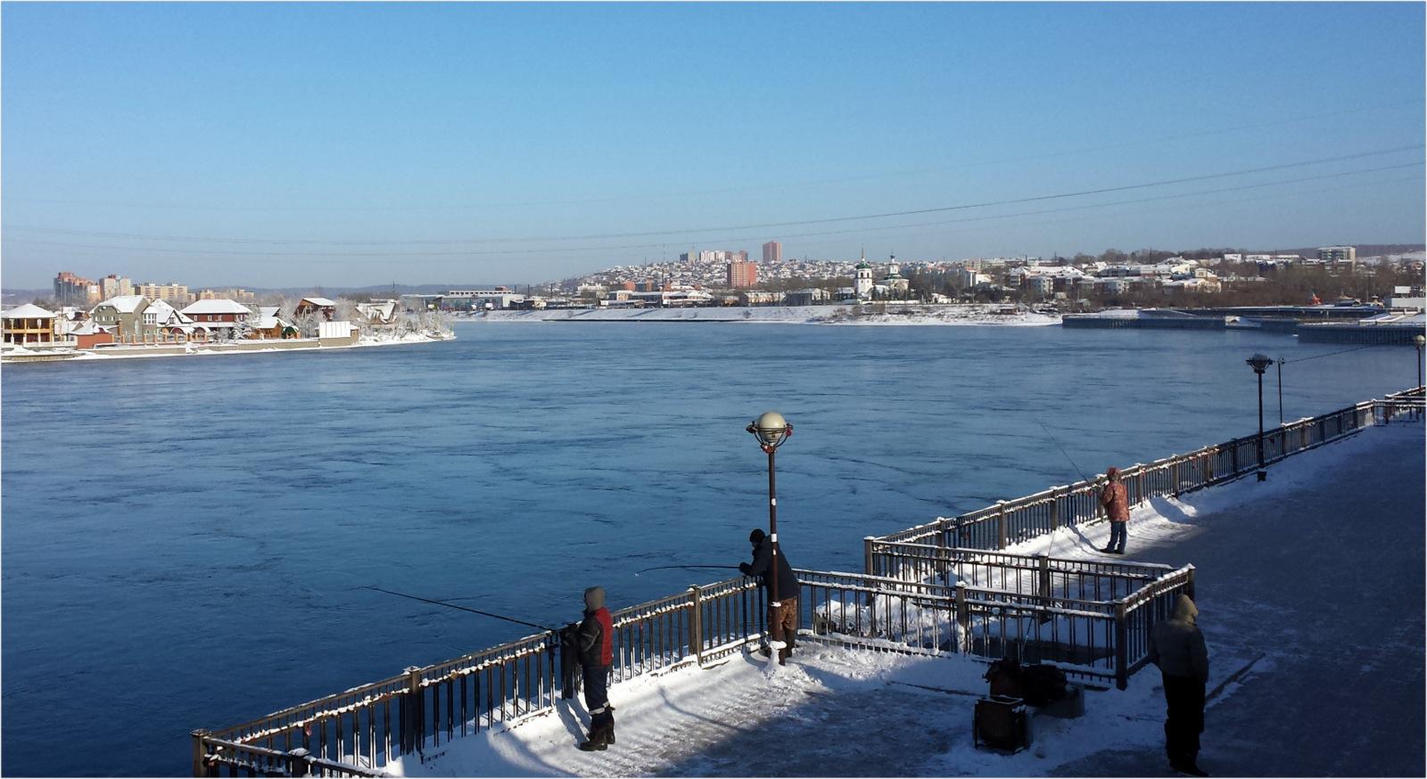 Russia Irkustk River