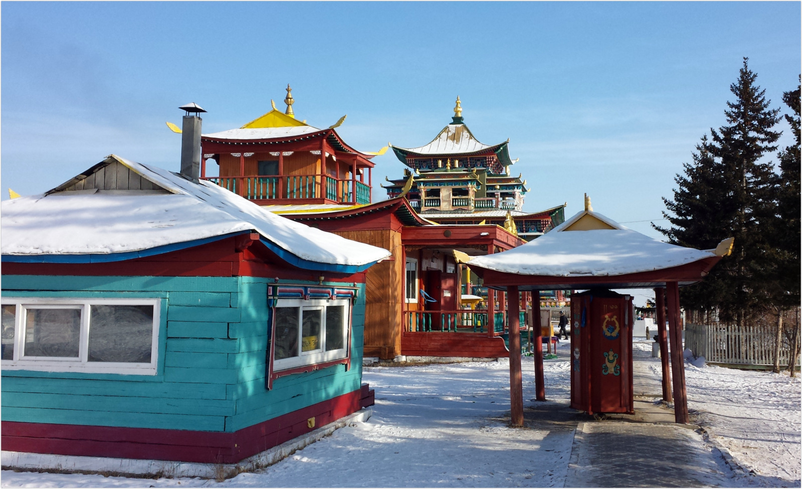 Russia Dacan Temple