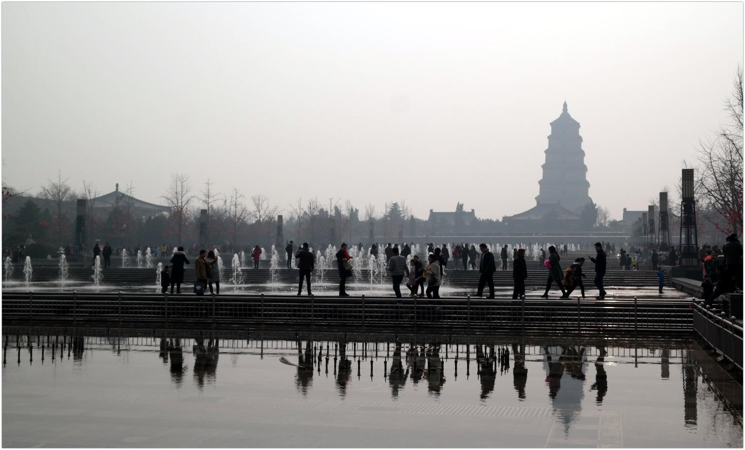 China - XiAn - Wild Goose Pagoda
