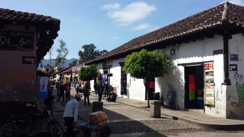 Move Our World Mexique San Cristobal de las casas rues