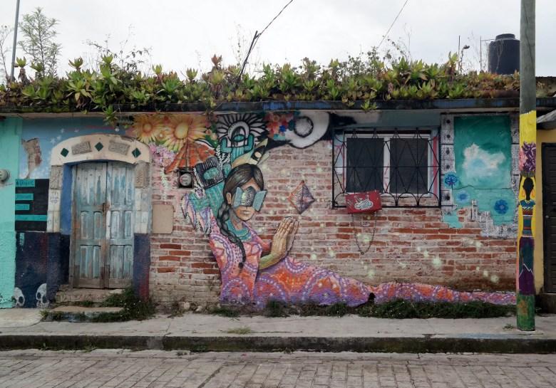 Move Our World Mexique San Cristobal de las casas street art
