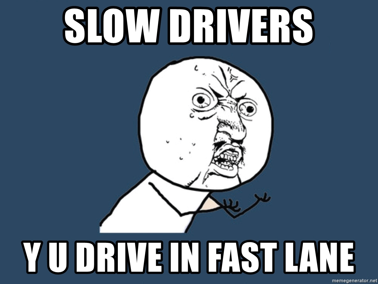 Why You Shouldn T Drive Slowly In The Left Lane Move Over Slow