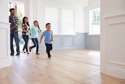 Bay Area family moving into new home