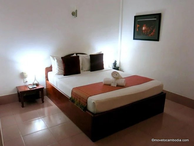 Deluxe room at Rosy Guesthouse Siem Reap