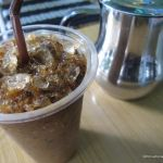 Cambodian iced coffee