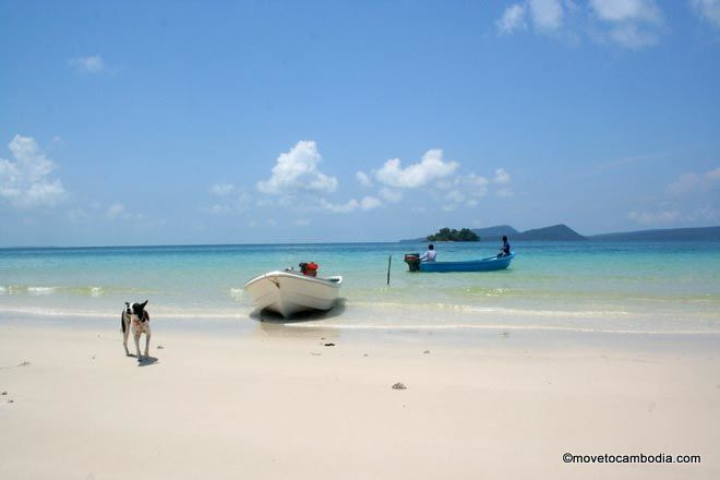 A stunning view of Long Set Beach on Koh Rong