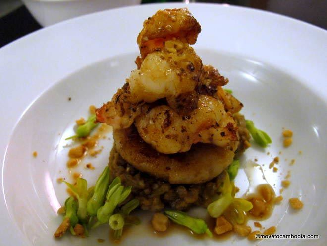 A dish at Cuisine Wat Damnak