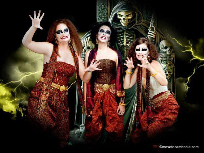 Khmer studio photo zombies