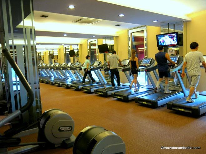 The Place Phnom Penh Treadmills
