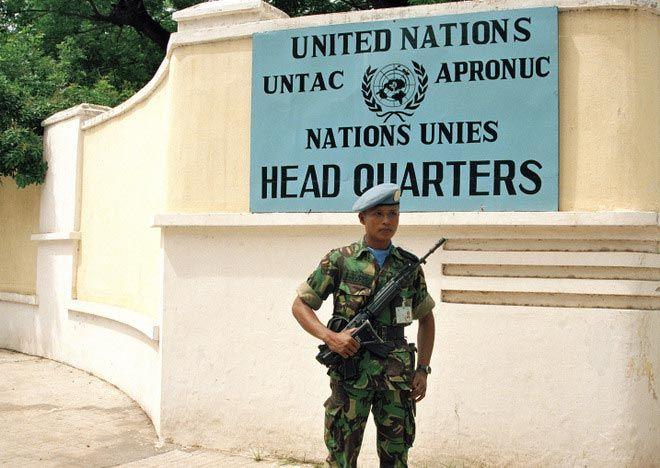 UNTAC headquarters Phnom Penh