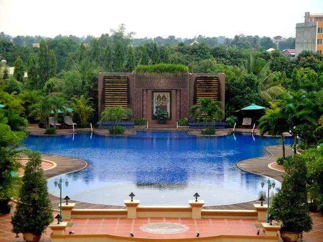 Angkor Era Hotel pool, Siem Reap