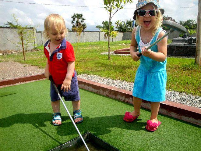 Siem Reap mini golf