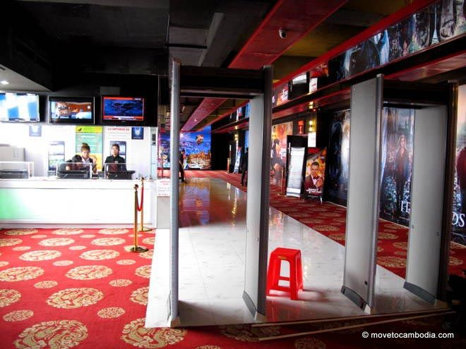 The interior of Legend Cinema in Phnom Penh.