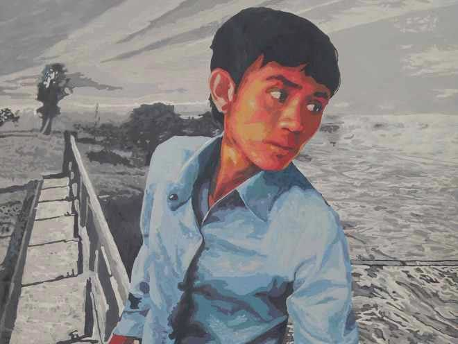 Boy at Trapeang Thmor by Lim Muy Theam