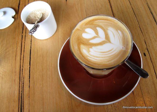 Cambodian latte