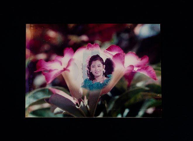 Cambodia studio portrait.