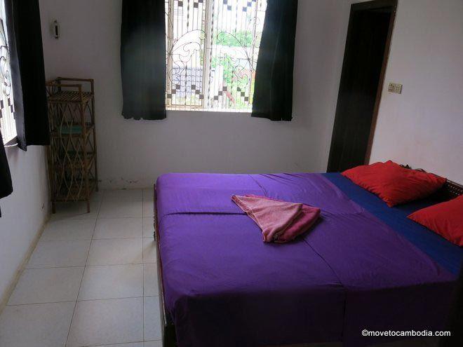 Here Be Dragons Battambang double room