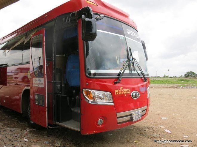 Siem Reap Battambang Capitol bus
