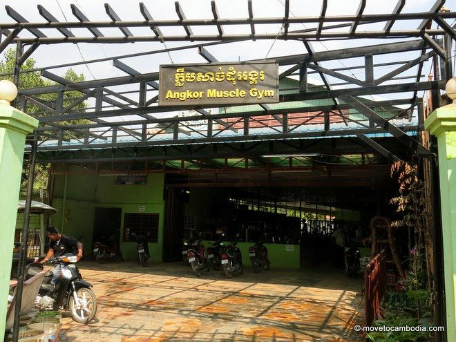 Angkor Muscle Gym, Siem Reap