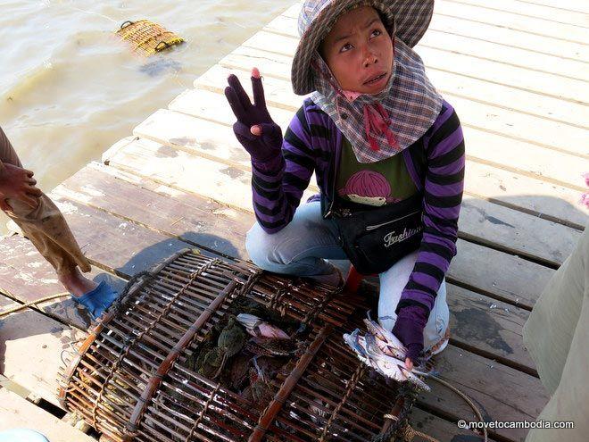 Bargaining at Kep Crab Market