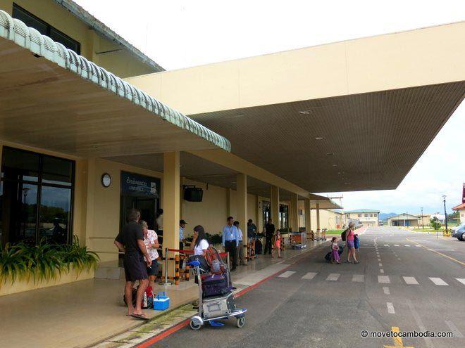 Sihanoukville Airport arrivals Cambodia