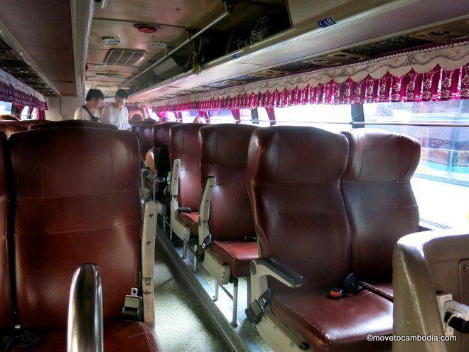 Nattakan Transport Co bus Bangkok to Siem Reap