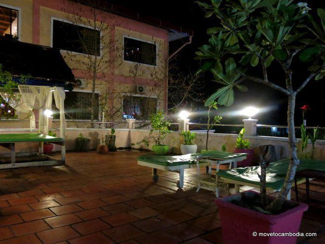 New Sea View Villa Sihanoukville garden terrace