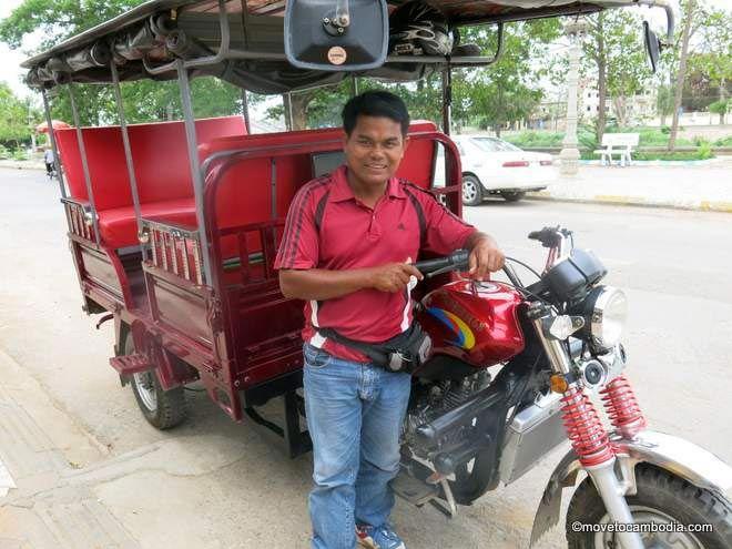 Samnang tuk tuk Battambang