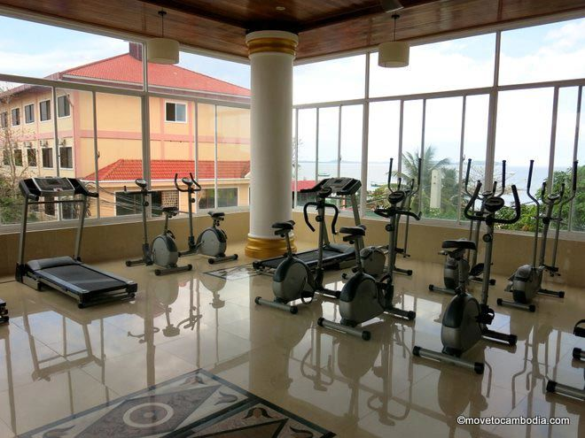 Serendipity Beach Resort gym