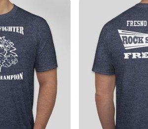 "T-Shirt ""Spirit of a Fighter- Heart of a Champion"""