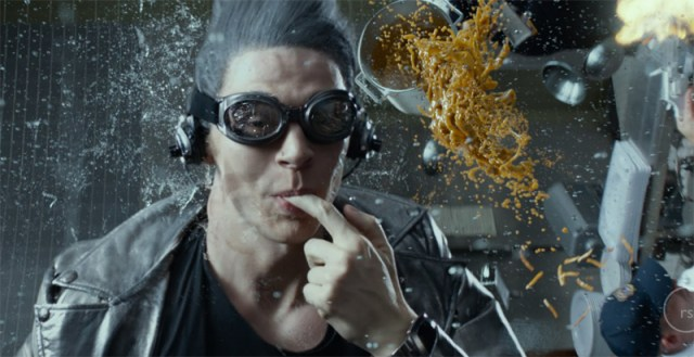 Quicksilver's scene from X-men: Days of Future Past