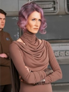 Laura Dern as Vice Admiral Holdo.
