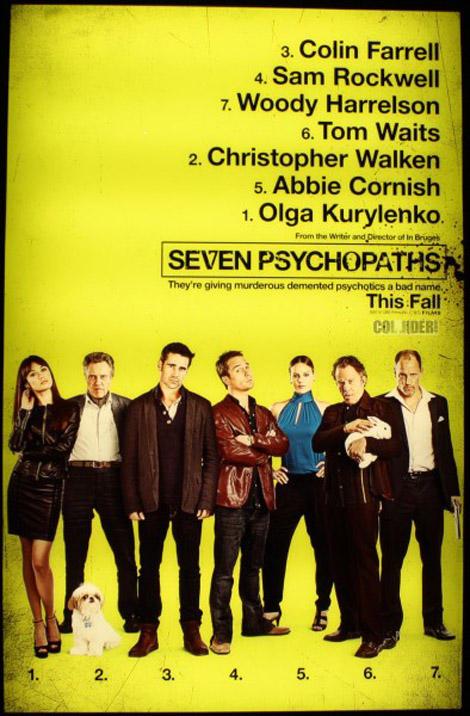 seven psychopaths movie