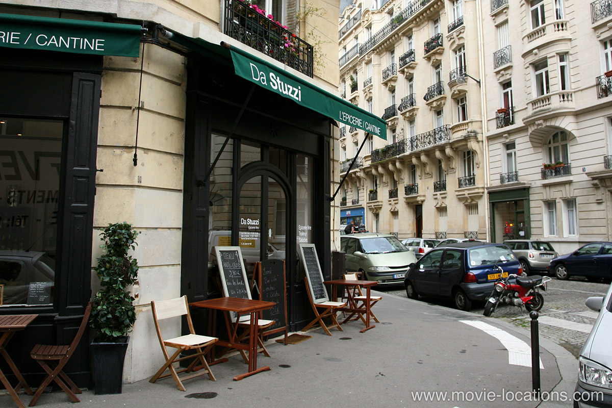 Inception   Film Locations Inception filming location  Da Stuzzi patisserie  6 rue Cesar Franck  7th  arrondissement