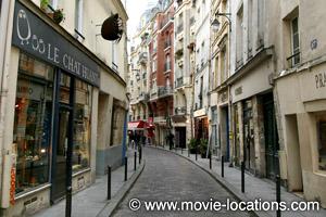Midnight In Paris location: rue Galande, Paris