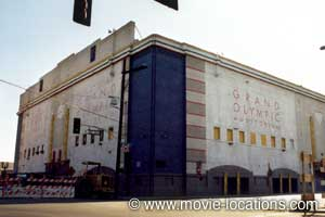Rocky Location Olympic Auditorium 1801 South Grand Avenue Downtown Los Angeles