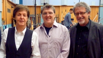 Paul McCartney, Martin O'Donnell and Michael Salvatori
