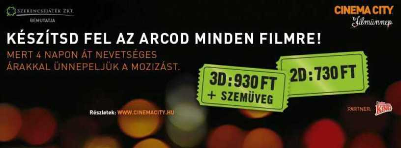 Cinema City Filmünnep Cover