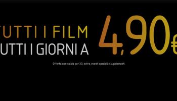 THE SPACE CINEMA | Il lunedì e il martedì un film a solo 3,50 euro ...