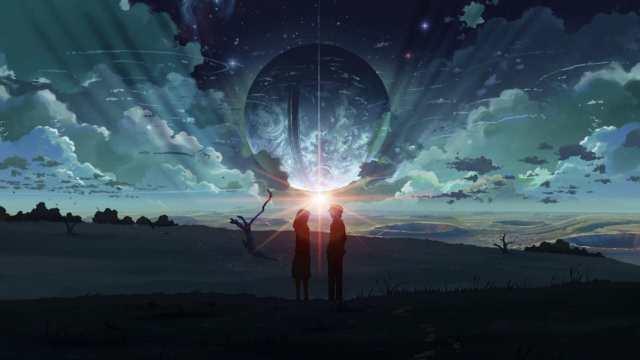 Immagine del film d'animazione 5 cm al secondo di Makoto Shinkai