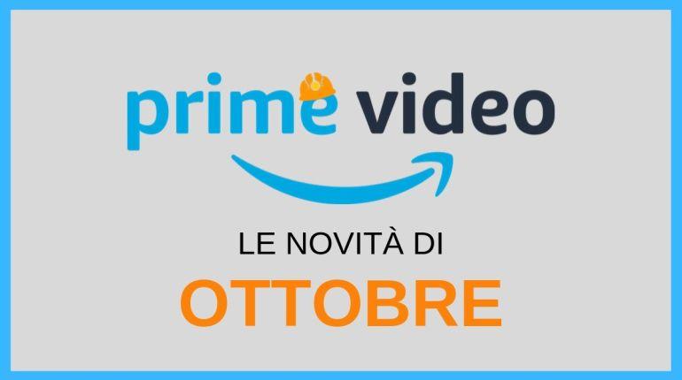 amazon prime video ottobre 2019